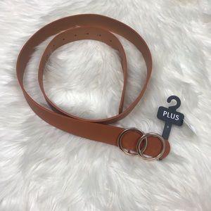[Apricot Lane] NWT Plus Size Brown Belt